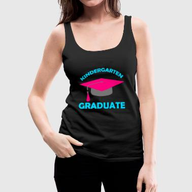 Cute Kindergarten Graduate T-shirt - Women's Premium Tank Top