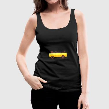 Yellow Van - Women's Premium Tank Top