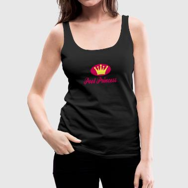 pool princess - Women's Premium Tank Top