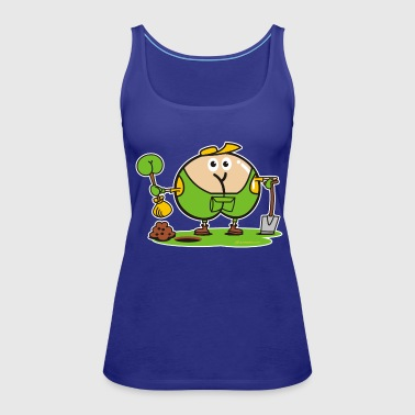 Assmex gardener male - Women's Premium Tank Top