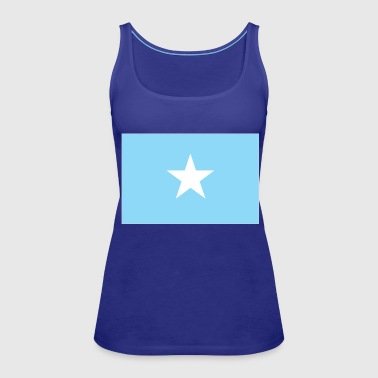 Somalia flag - Women's Premium Tank Top