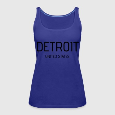 Detroit - Women's Premium Tank Top