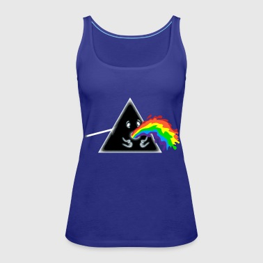 Barf Side of the Moon - Women's Premium Tank Top