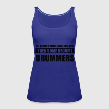 drummers design - Women's Premium Tank Top