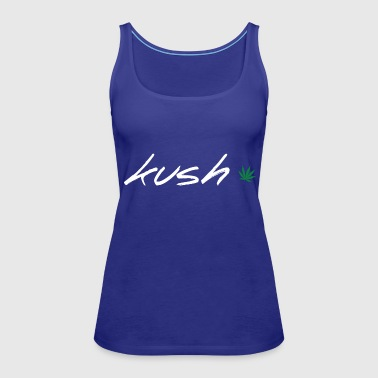 Kush Leaf - Women's Premium Tank Top