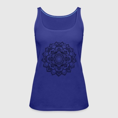 Mandala Oldschool MANDALA Ink Tattoo Newschool Mod - Women's Premium Tank Top