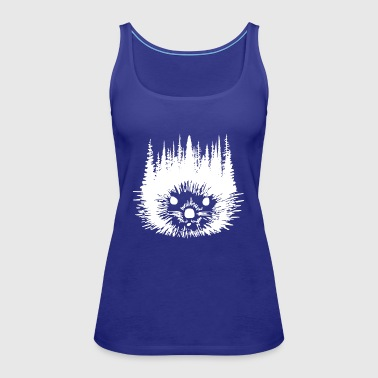 Hedgehog - Women's Premium Tank Top