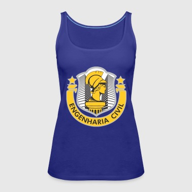 Engenharia Civil - Women's Premium Tank Top