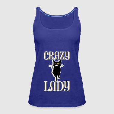 Crazy Cat Lady - Women's Premium Tank Top