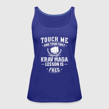Krav Maga T-Shirt - Your First Lesson Free - Women's Premium Tank Top