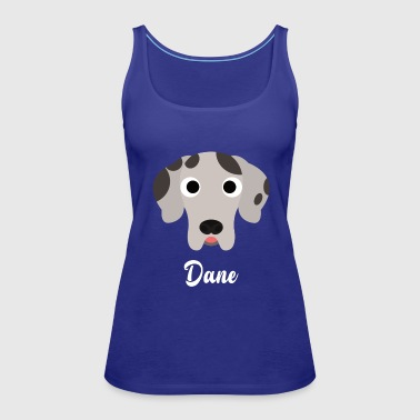 Dane - Great Dane - Women's Premium Tank Top