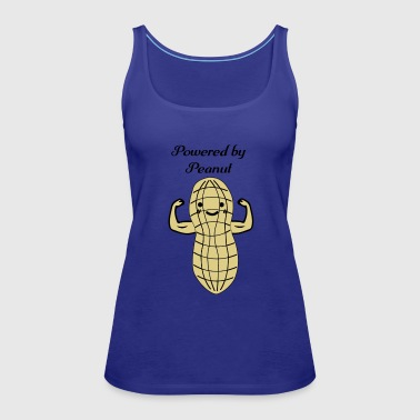 Peanut Bodybuilding Powerlifting Lifting Gym - Women's Premium Tank Top