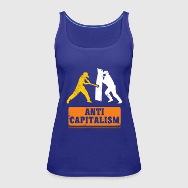 Anti Capitalism communism gift idea christmas - Women's Premium Tank Top
