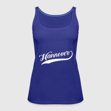 Hannover my city Germany - Women's Premium Tank Top