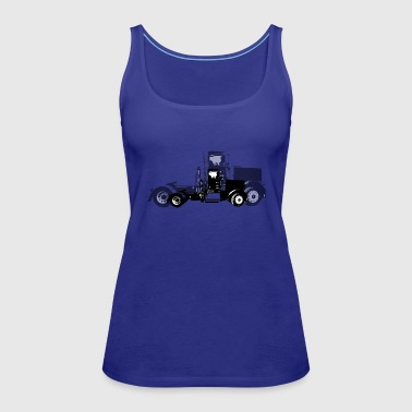 Agriculture Tractor Pulling Farm LoverTractor Pulling Farm Lov - Women's Premium Tank Top