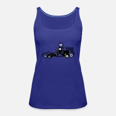 Ford Tractor Pulling Farm LoverTractor Pulling Farm Lov - Women's Premium Tank Top