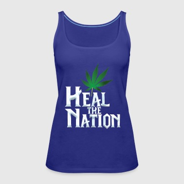 Heal the Nation - Women's Premium Tank Top