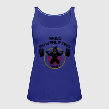 Viking Squat Bodybuilding Powerlifting Lifting Gym - Women's Premium Tank Top