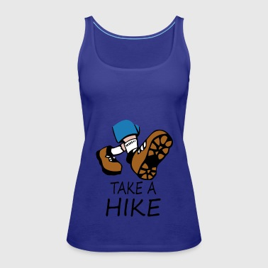 hike - Women's Premium Tank Top