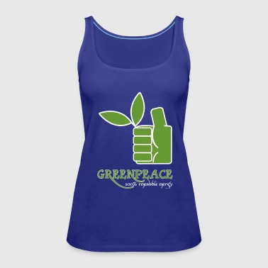 Greenpeace 100 renewable energy - Women's Premium Tank Top