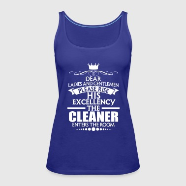 CLEANER - EXCELLENCY - Women's Premium Tank Top