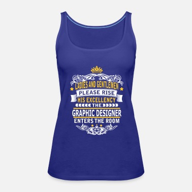 Graphics GRAPHIC DESIGNER - Women's Premium Tank Top