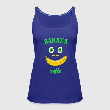 Banana Smile - Women's Premium Tank Top