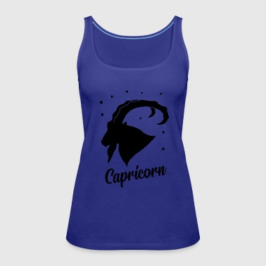 Starfleet capricorn star sign - Women's Premium Tank Top