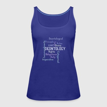 ethics quotes - Women's Premium Tank Top