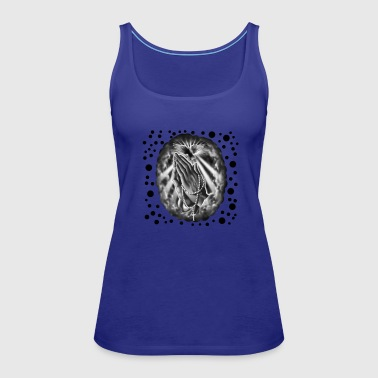 Praying Hands - Women's Premium Tank Top