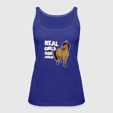 pet horse - Women's Premium Tank Top