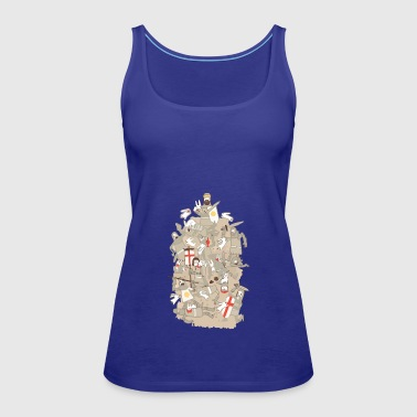 BAD TEMPERED RODENTS - Women's Premium Tank Top