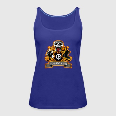 Full Throttle Polecats - Women's Premium Tank Top