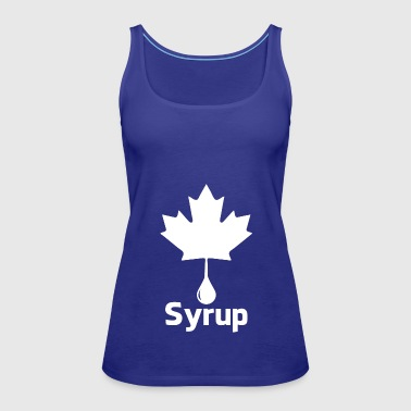 syrup wite - Women's Premium Tank Top