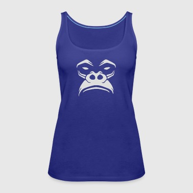 Gorilla Not Very Amused - Women's Premium Tank Top