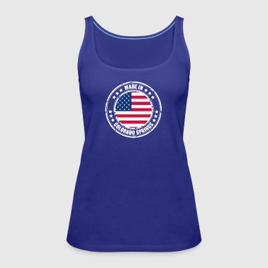 COLORADO SPRINGS - Women's Premium Tank Top