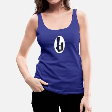 Foot foot design - Women's Premium Tank Top