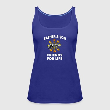 Father & son - Women's Premium Tank Top