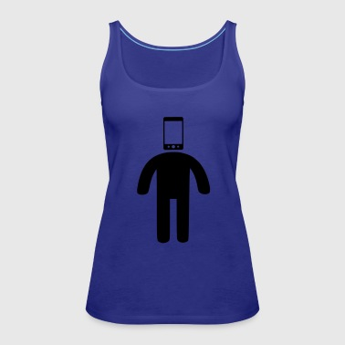 phone head - Women's Premium Tank Top