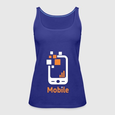 Mobile - Women's Premium Tank Top