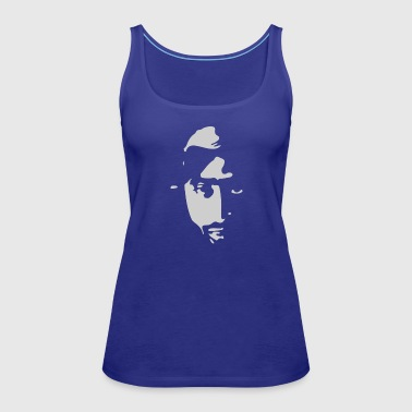 Airbrushed Stencil - Women's Premium Tank Top