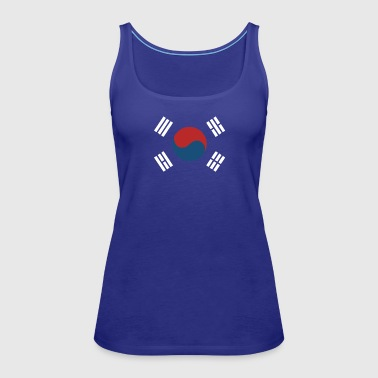 South Korea International Baseball - Women's Premium Tank Top