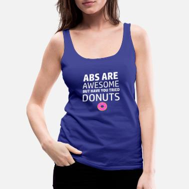 Funny Crossfit Funny workout designs - Women's Premium Tank Top