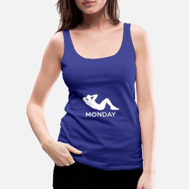 Monday MONDAY - Women's Premium Tank Top