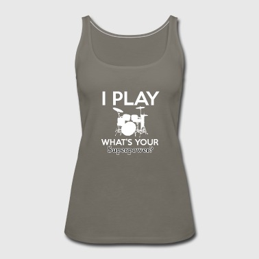 Drumming designs - Women's Premium Tank Top