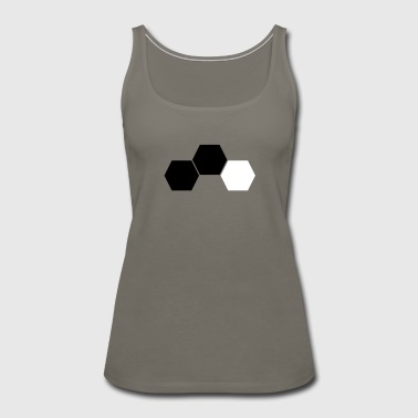 Honeycomb - Women's Premium Tank Top