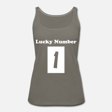 Lucky Number Lucky number - Women's Premium Tank Top