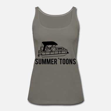 Pontooning Pontoon - Women's Premium Tank Top