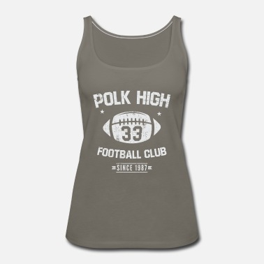 Football Club Polk high Football Club - Women's Premium Tank Top
