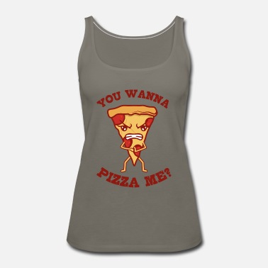Cheese Pizza Do You Like Me Gift For Pizza Lover - Women's Premium Tank Top